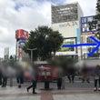 新宿駅東口からのルー…