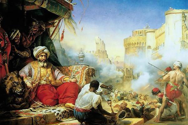 マムルークを虐殺するムハンマド・アリー