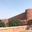 インド・アーグラー城…