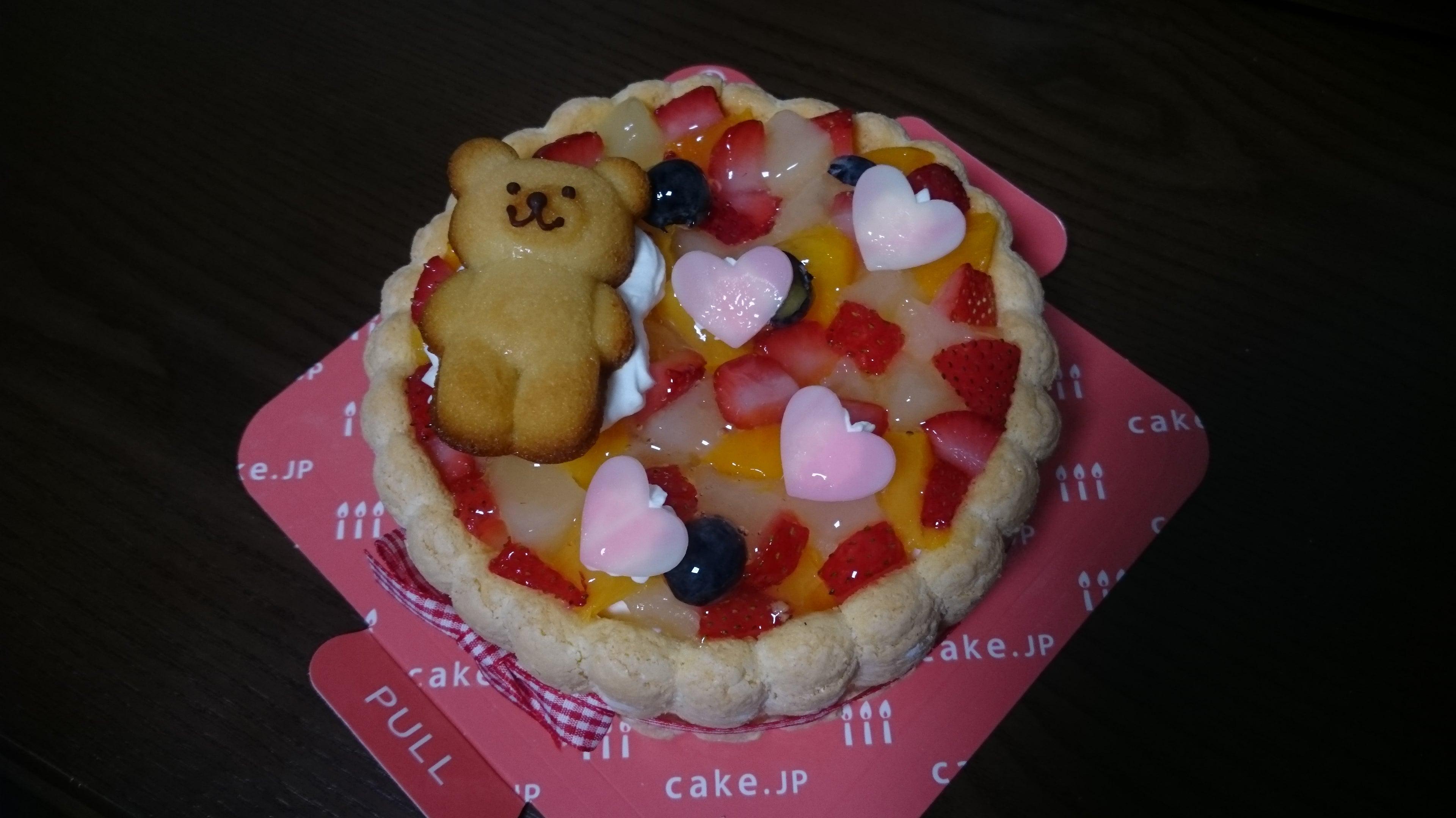 バースデー ケーキ ファースト