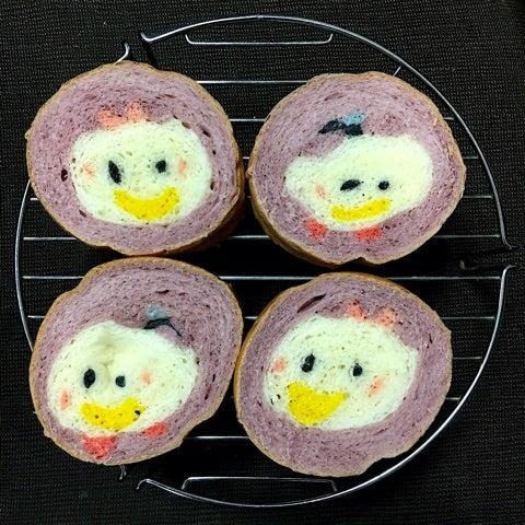 ツムツム ドナルドデイジー イラストパン Izumiのディズニー大好き
