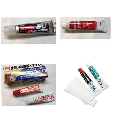 アクセサリー制作に必要な接着剤についての記事に添付されている画像