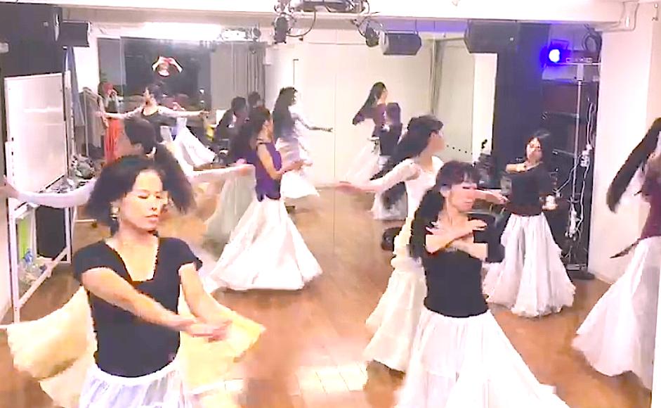 旋回ダンスAmeno-Uzme (天宇受…