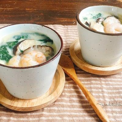 簡単、茶碗蒸し。しかも蒸し器不要のフライパンで!の記事に添付されている画像