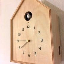 時計とランプとアート…