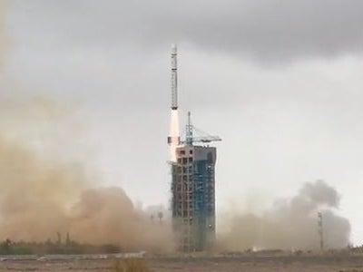 VRSS-2打ち上げCZ-2D