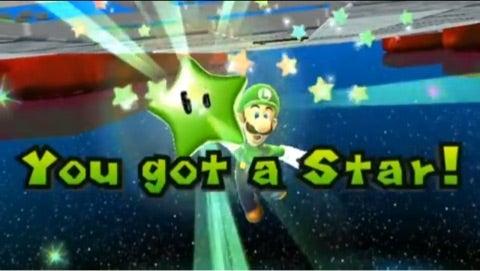2 グリーン スーパー マリオ スター ギャラクシー