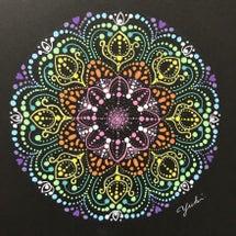 私の曼荼羅アート、作…