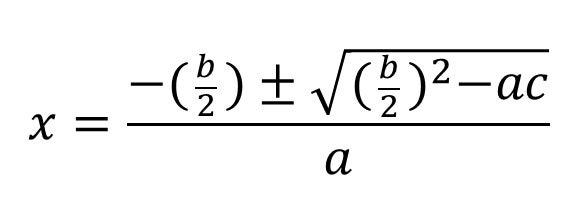 解 の 公式 偶数 解の公式の導出をわかりやすく証明!【bが偶数の場合や覚え方も問題を...