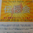 「SS健康法」伝授会 土曜日参加者募集! の記事より