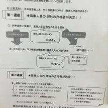愛媛県公立高校入試の…
