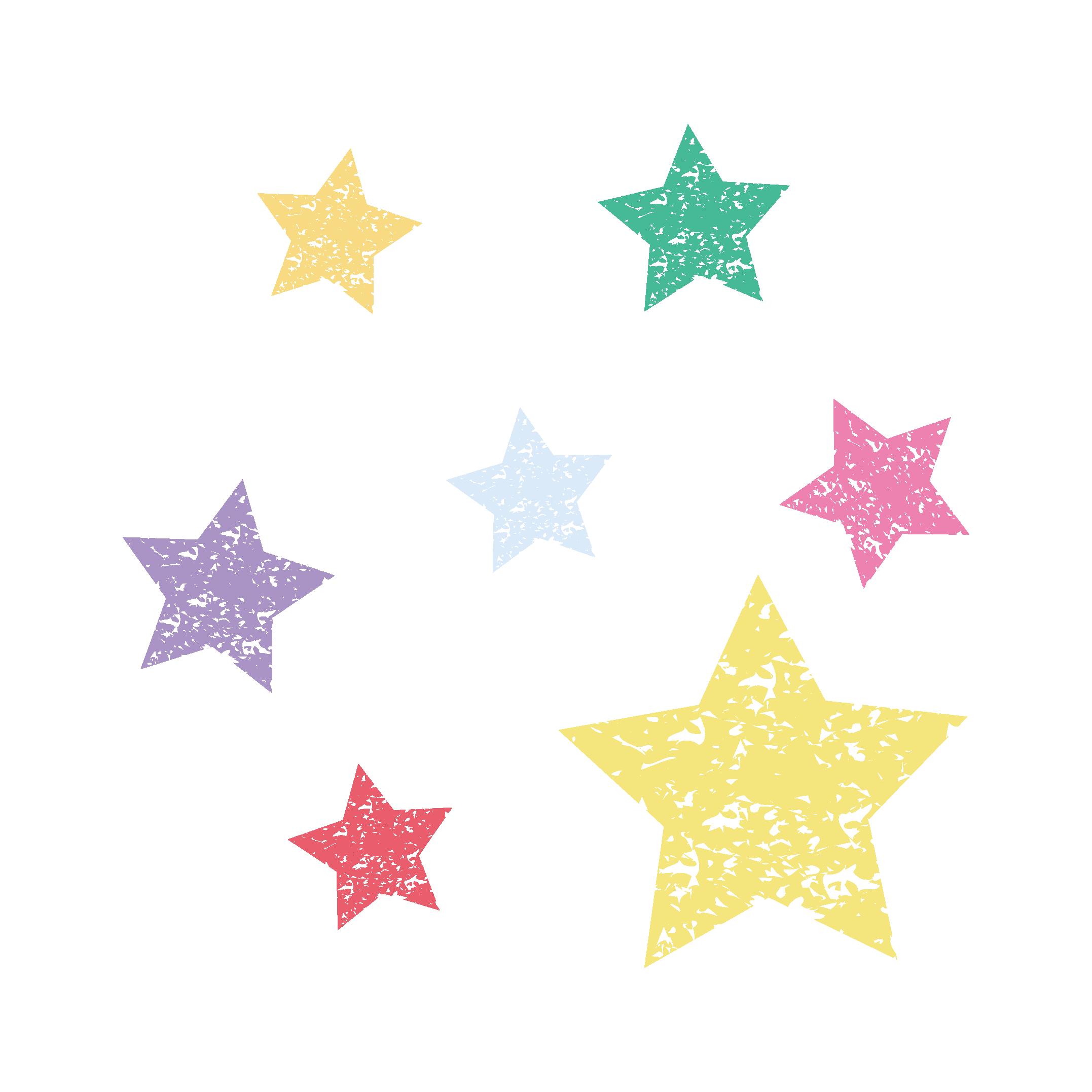 星(スター)のスタンプ イラスト | 商用フリー(無料)のイラスト素材