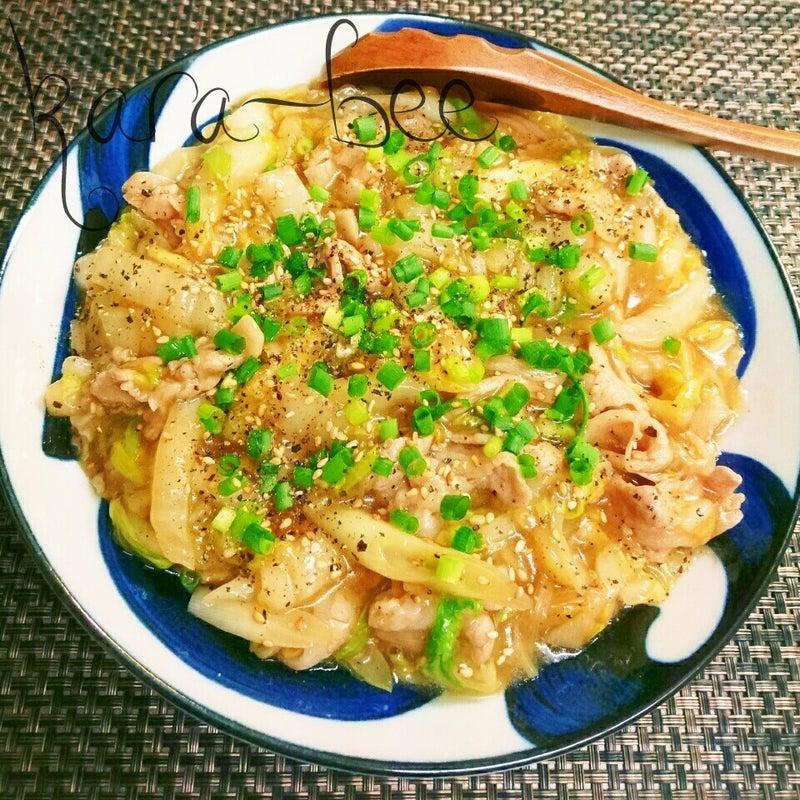 レシピ 早い 白菜 簡単