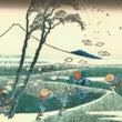 葛飾北斎と竹の音