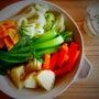 温野菜とシーザードレ…