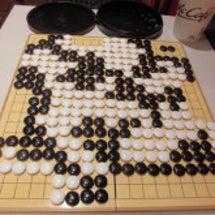 マクドナルドで囲碁