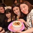 #丸型の写真ケーキ