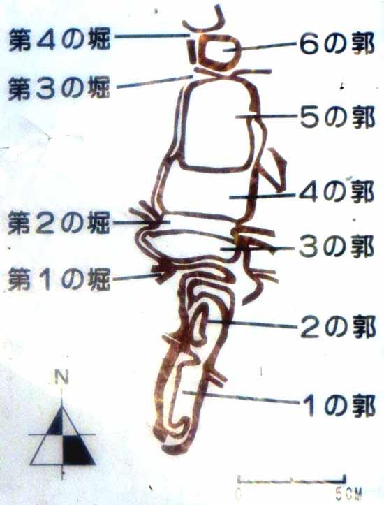 【図】笹尾城