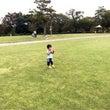 2歳〜公園でボール遊…