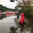 雨の日はいい釣りが出…