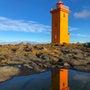 アイスランドの灯台