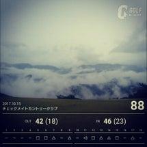 雨のラウンド~( ̄▽…