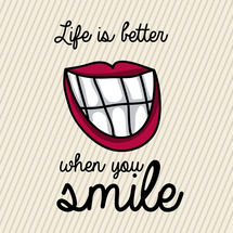 笑顔で過ごせば未来は…