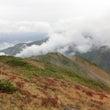 紅葉の唐松岳登山#2