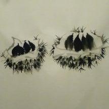 酒井幸子先生の水墨画…