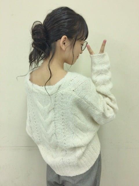 後姿も可愛い清井咲希