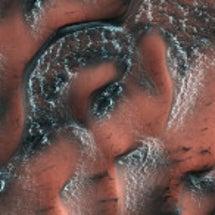火星 ドライアイスの…
