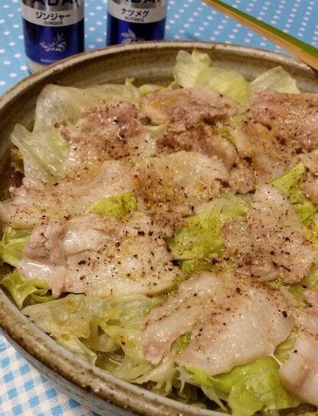 豚 バラ レタス レシピ