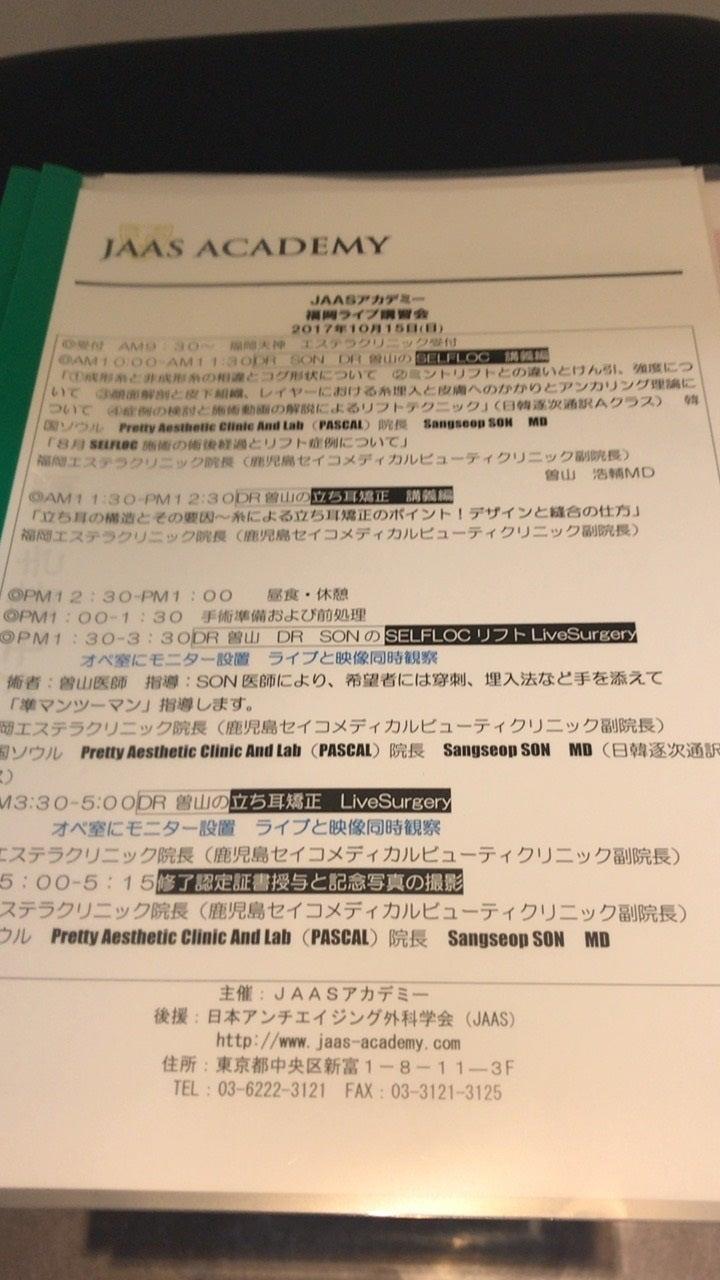 『福岡での韓流スレッドリフトと立ち耳のライブサージェリーと韓国風ピリ辛鍋』