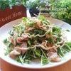 少量のお肉で◎簡単10分*豚バラと豆苗の蒸ししゃぶサラダ*の画像