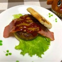 激ウマ納豆バーガー!…