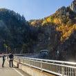 「豊平峡ダムの紅葉狩…