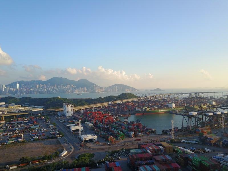 久しぶりのドローン!昂船洲大橋がかっこよすぎてもっと香港が好きに ...