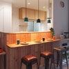 キッチンのプチリフォームでペンダント照明増設工事(壁紙補修必須!)@港区赤坂の画像
