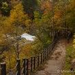 「三段滝公園の紅葉狩…