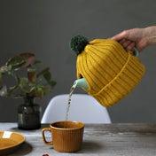 ★ダイソーのニット帽で簡単ティーコージーの作り方!