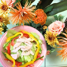 カラフルサラダ☆花と…