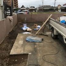 駐車場 土間工事