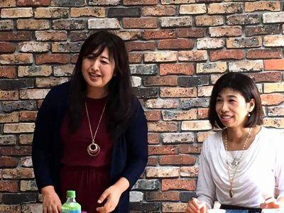 kokkoさんと渡辺容子さん
