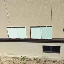 外壁塗装とテラスと外…