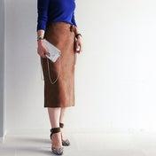 ★茶色がくすむ^^;そんな人にオススメGU秋色スカート