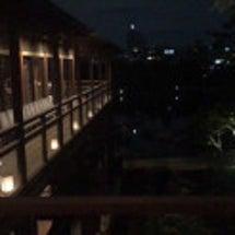 昨晩の徳川園