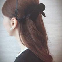イベント 髪型 リボ…