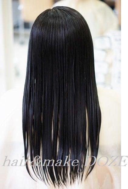 ヘアドネーション~髪の毛の寄付2回目のお客様。