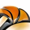 ■べっ甲ステンドグラス調かんざし 武井咲主演・黒革の手帖使用簪。べっ甲の特性を生かした美しい簪。の画像