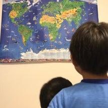 世界地図を